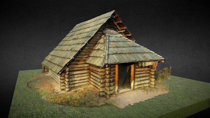 Prehistoric house (Asparn) 3D Model