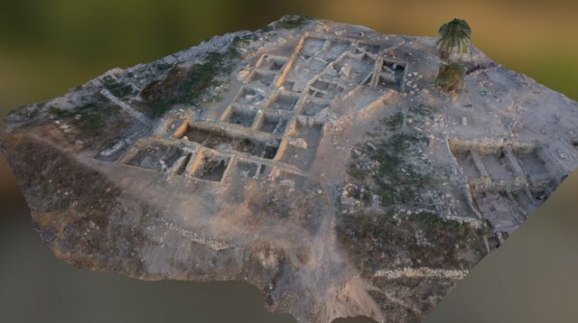 Megiddo Area Q Aerial Test 3D Model