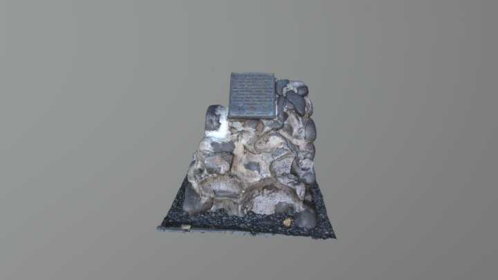 Scan: Banyan Tree Monument, Lahaina Maui 3D Model