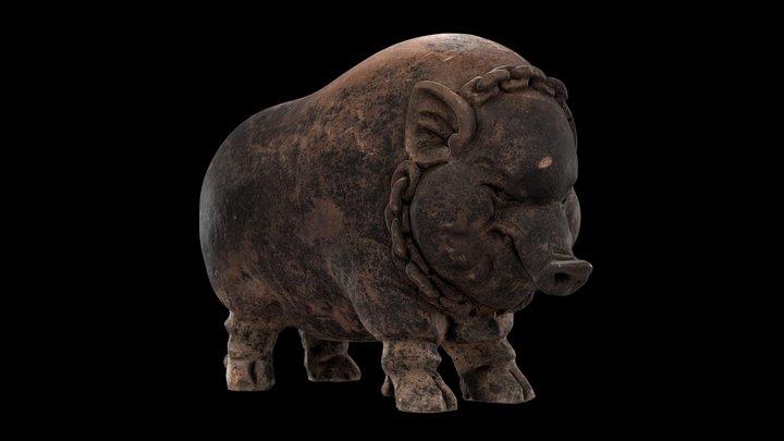 1980.16 Piggy Bank 3D Model