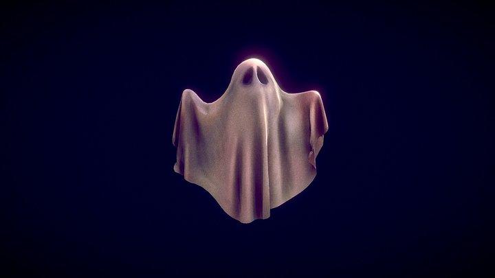 Ghost Toon 3D Model