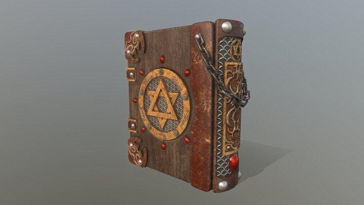 HIE Magic Book D180219 3D Model