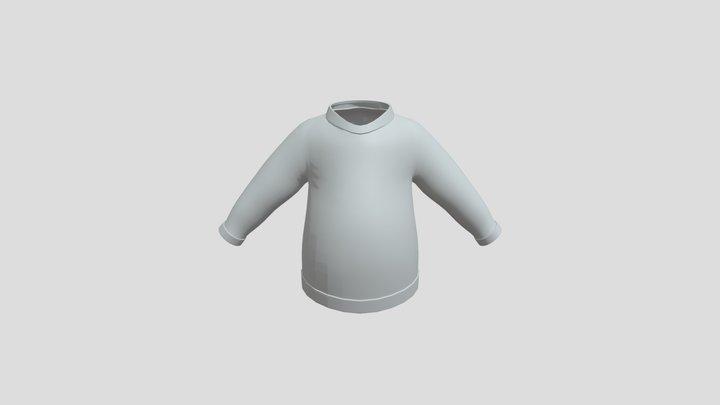 3D Sweater - Base Mesh 3D Model