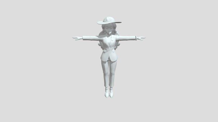 Pauline 3D Model