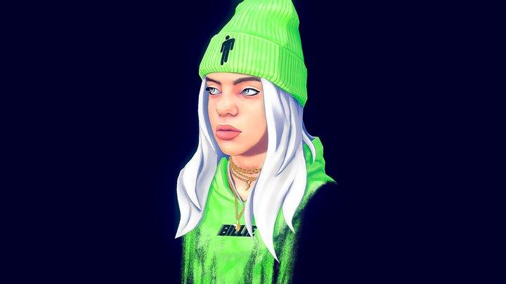 Billie Eilish 3D Model