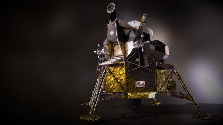 Apollo 11 - Lunar Module 1969 3D Model