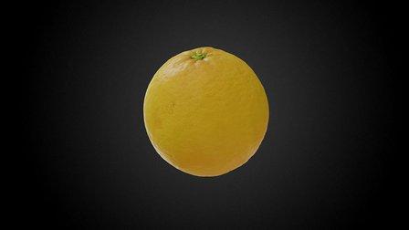 Orange 01 3D Model