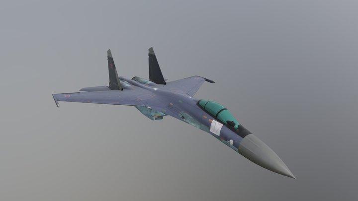 Su-35 3D Model