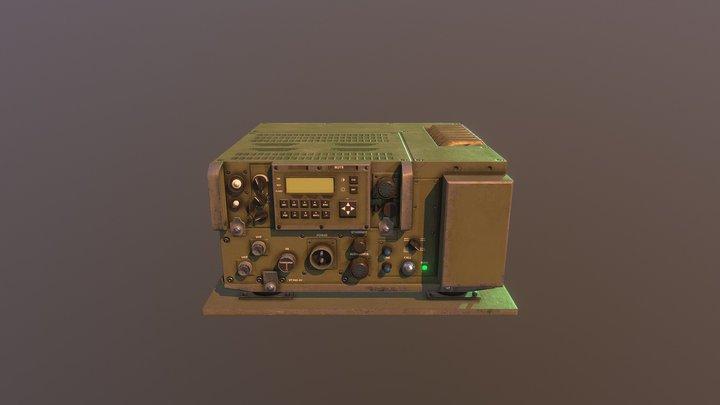 Military Transceiver 3D Model