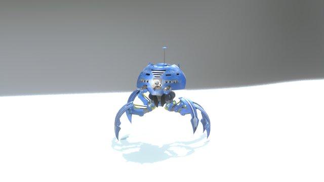 Ice Mite 3D Model