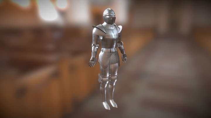 Medieval Knight's armor 3D Model