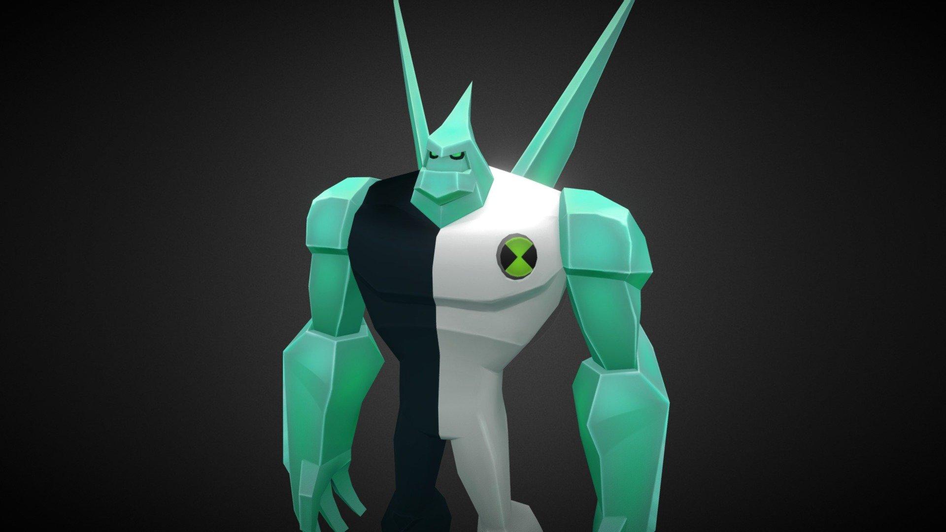 Diamondhead - Ben 10 - Download Free 3D model by thanhtp ...