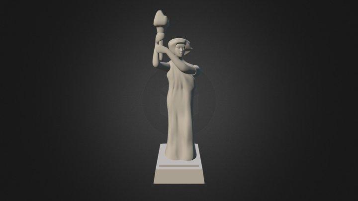Statue Dv0 4 3D Model