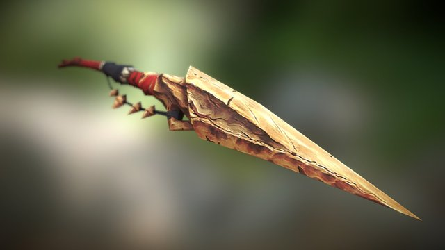 Spear Sketchfab 3D Model