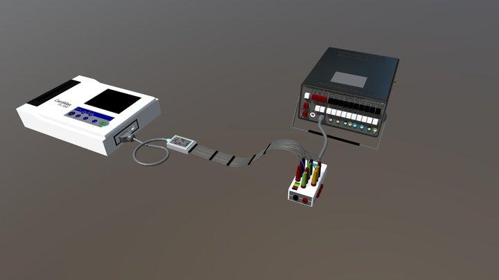 Electrocardiograph verification 3D Model