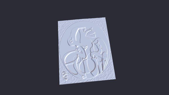 A l'intérieur de la vue - Max Ernst 3D Model
