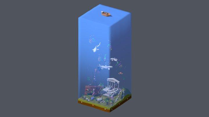 Atlantis 3D Model