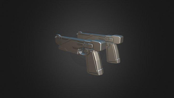 Star Wars: Dual Westar-35 Blaster. 3D Model