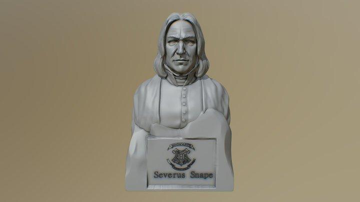 Severus Snape 3D Model