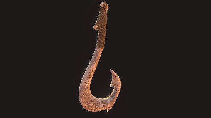 Maui's Fish Hook 3D Model