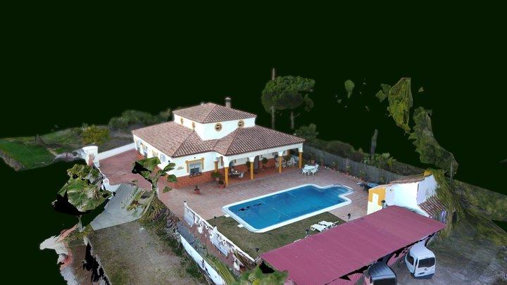 Casa Rural casafernandi.com Mapping 3D Drone 3D Model