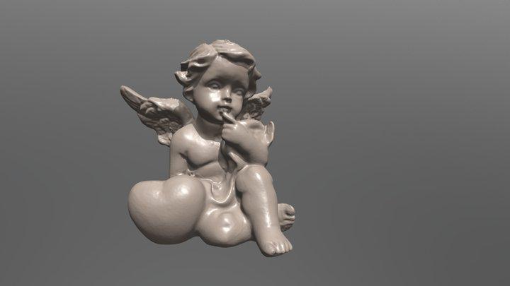 Angel Ornament 3D Model