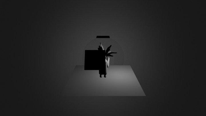 Personagem_abacaxi 3D Model