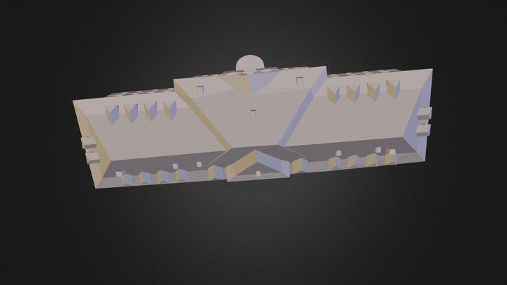 Batiment Principal 3D Model