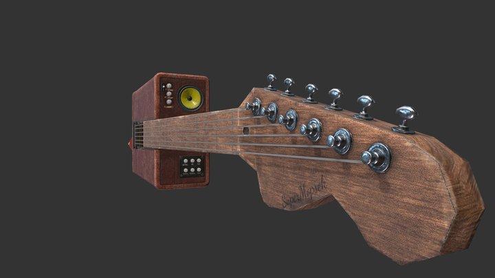 Case-Guitar 3D Model
