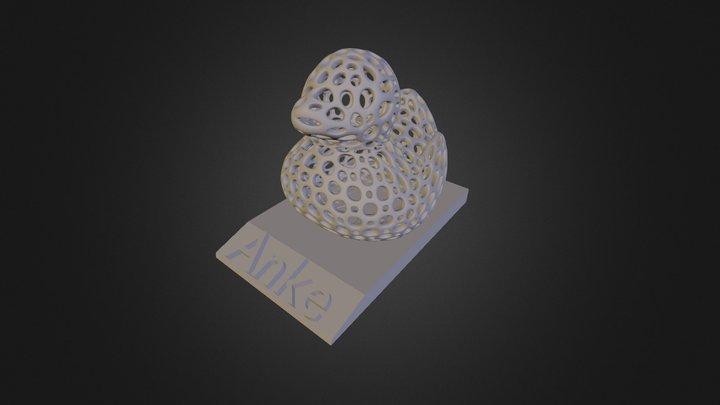 Duck Anke 3D Model
