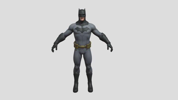 Batman (Houston) 3D Model