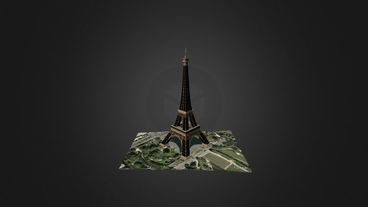 Eiffel-tower 3D Model