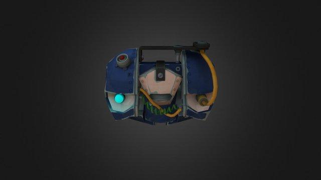 Subjugated Saboteur  [TF2 Spy Sapper] 3D Model