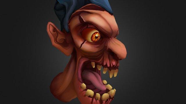 Rage Demon 3D Model