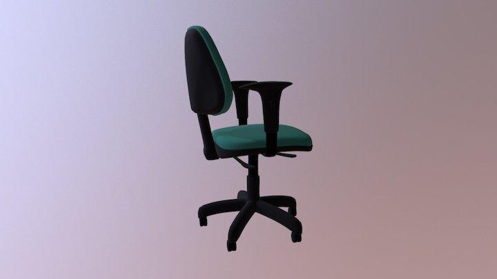 Office Chair - JOB 3D Model