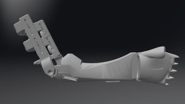 Esdras Full Arm - Preview 3D Model