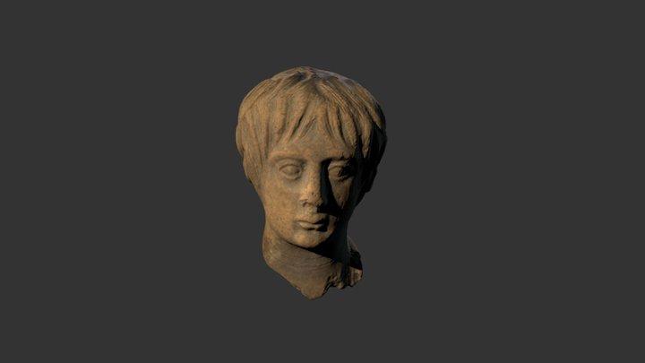 Hellenistic Terracotta Head, 3rd century BCE 3D Model