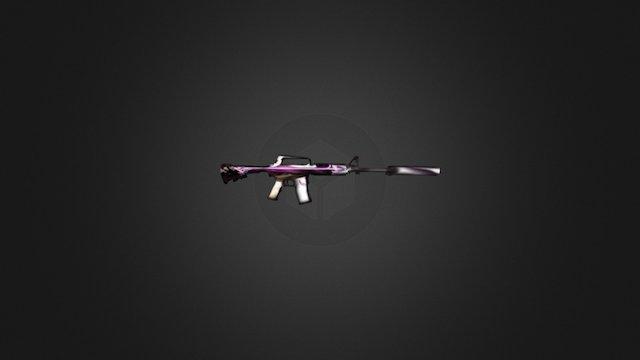 M4a1-s Arrow Win 3D Model