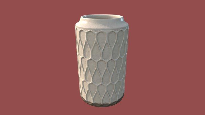 Vase Lara 3D Model