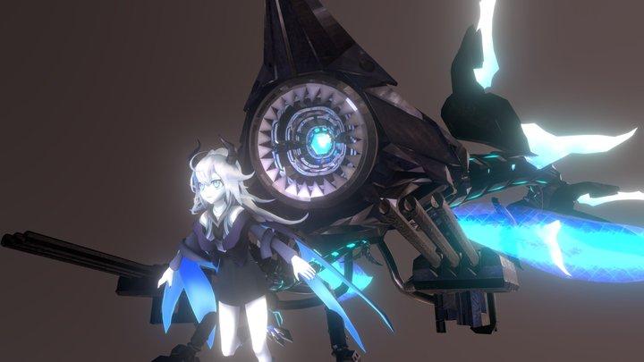 Siren Omitter (Azur Lane) 3D Model