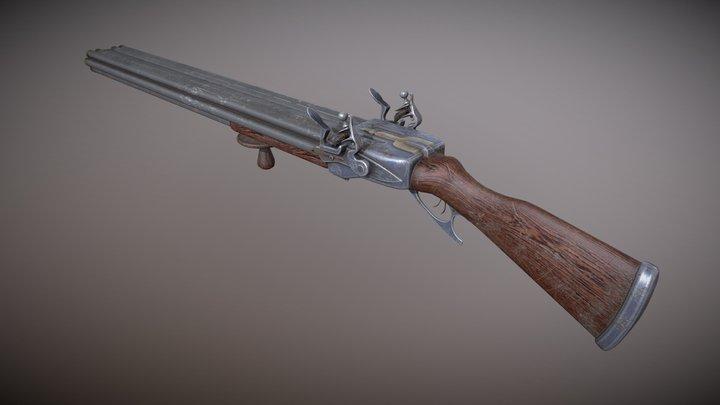 Shotgun_a 3D Model