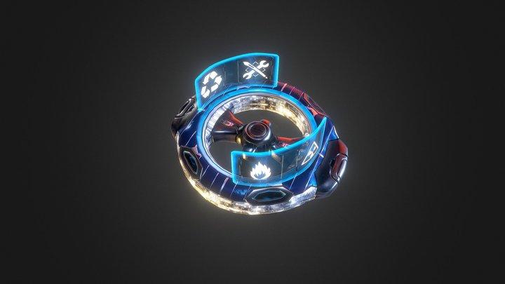 Civilian : Starport 3D Model