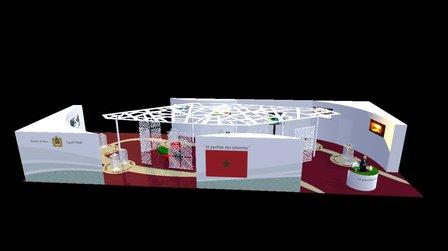 COP 21 Stand Maroc 3D Model