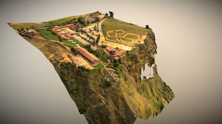 Parque Nacional del Chicamocha (Colombia) 3D Model