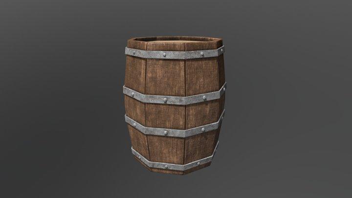 Barrel lp / Beczka 3D Model
