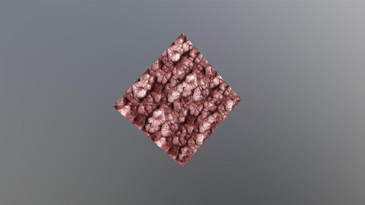 Pinwheel gore texture 3D Model