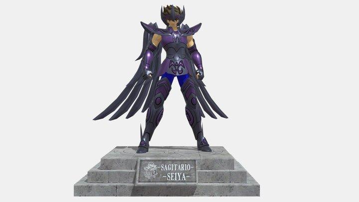 Seiya Sagitario Tamashi Nation 2019 3D Model