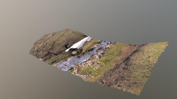 Pyrkov River valley 3D Model