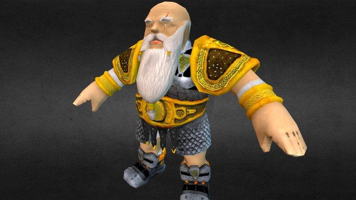 Master Dwarf 3D Model