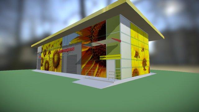 Autoservice 3D Model